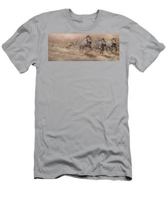 In Pursuit Men's T-Shirt (Athletic Fit)