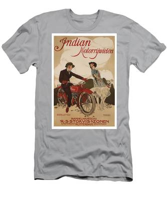 Ariel Motorcycle Antique Vintage Graphic Advertising Poster T-Shirt
