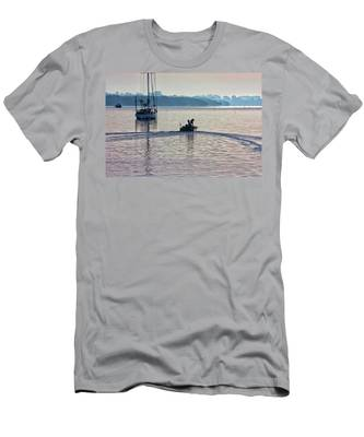 Into The Morning Light Men's T-Shirt (Athletic Fit)