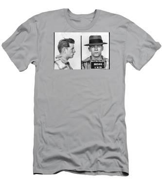 James Whitey Bulger Mug Shot 1953 Horizontal Men's T-Shirt (Athletic Fit)