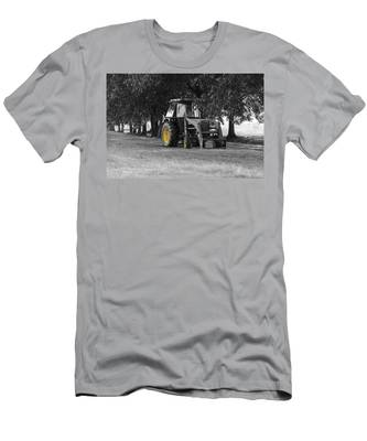 John Deere 620 In Selective Color Men's T-Shirt (Athletic Fit)