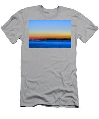 Key West Abstract Men's T-Shirt (Athletic Fit)