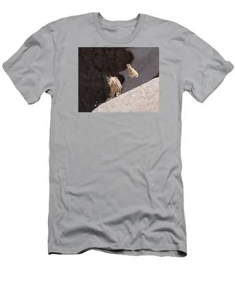 Kid In Flight Men's T-Shirt (Athletic Fit)