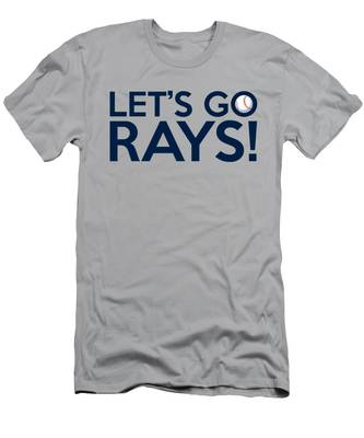 Let's Go Rays Men's T-Shirt (Athletic Fit)