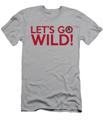 Let's Go Wild Men's T-Shirt (Athletic Fit)
