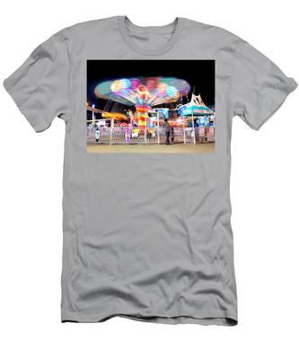 Lolipop Wheel- Men's T-Shirt (Athletic Fit)