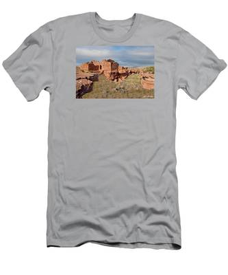 Lomaki Pueblo Ruins Men's T-Shirt (Athletic Fit)