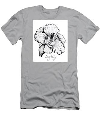 Luscious Daylily  Men's T-Shirt (Athletic Fit)