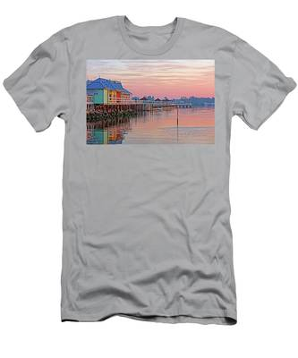 Morning Peace Men's T-Shirt (Athletic Fit)