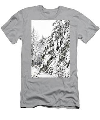 Mourn The Winter Men's T-Shirt (Athletic Fit)