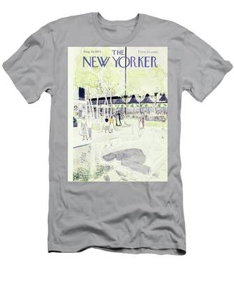 New Yorker August 28 1954 Men's T-Shirt (Athletic Fit)