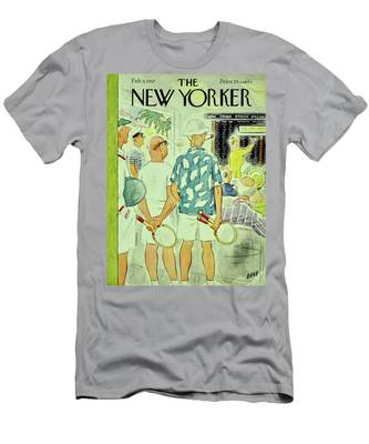 New Yorker February 9 1957 Men's T-Shirt (Athletic Fit)