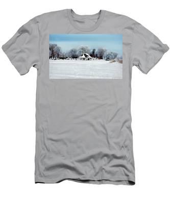 Orillia Winter Men's T-Shirt (Athletic Fit)