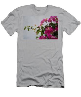 Pinks Portrait Men's T-Shirt (Athletic Fit)