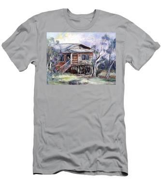 Queenslander Style House, Cloncurry. Men's T-Shirt (Athletic Fit)