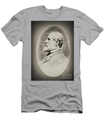 Robert E Lee - Csa Men's T-Shirt (Athletic Fit)