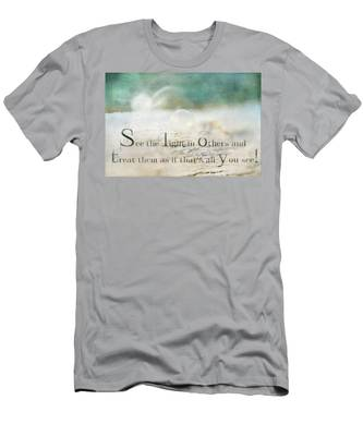 See The Light In Others Men's T-Shirt (Athletic Fit)