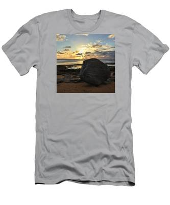 Shining Over The Boulder  Men's T-Shirt (Athletic Fit)