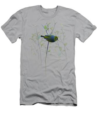 Silvereye Men's T-Shirt (Athletic Fit)