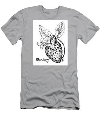 Strawberry Dreams Men's T-Shirt (Athletic Fit)