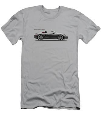 Mens Evolution of Man to Porsche 911 Convertible 996 Long Sleeve T-Shirt S 3XL