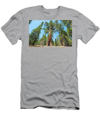 The Grizzly Giant- Men's T-Shirt (Athletic Fit)