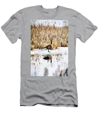 The Lone Traveler Men's T-Shirt (Athletic Fit)