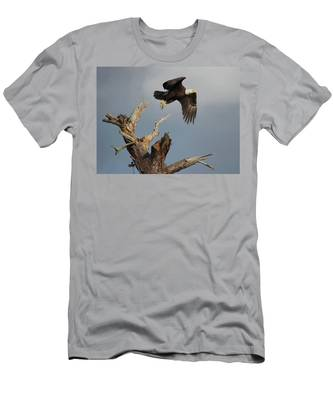 Men's T-Shirt (Athletic Fit) featuring the photograph the Mighty Ozzie. by Evelyn Garcia