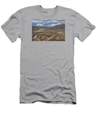 This Way To The Mountains Men's T-Shirt (Athletic Fit)