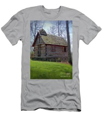Tom's Country Church And School Men's T-Shirt (Athletic Fit)