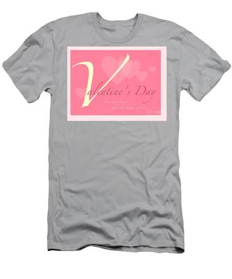 Valentine's Day Men's T-Shirt (Athletic Fit)