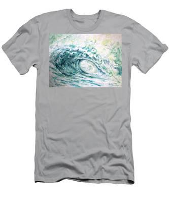 White Wash Men's T-Shirt (Athletic Fit)