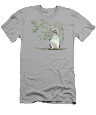 Wood Pigeon Men's T-Shirt (Athletic Fit)