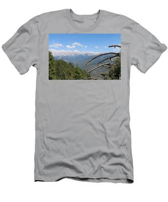 Men's T-Shirt (Athletic Fit) featuring the photograph Yosemite View  by Christy Pooschke