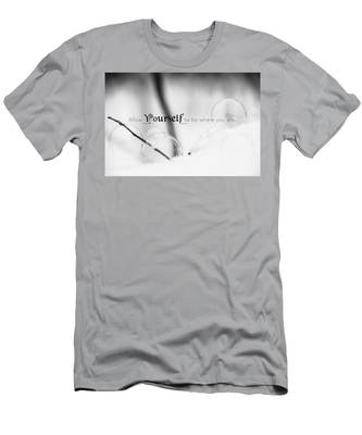 Yourself Men's T-Shirt (Athletic Fit)