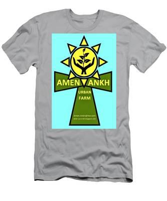 Amen Ankh Men's T-Shirt (Athletic Fit)