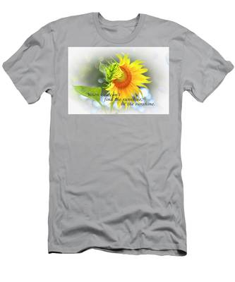 Be The Sunshine Men's T-Shirt (Athletic Fit) by Ola Allen