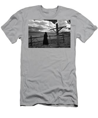 Men's T-Shirt (Athletic Fit) featuring the photograph Appointment by Carl Young