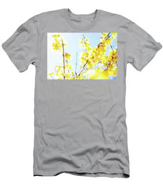 Men's T-Shirt (Athletic Fit) featuring the photograph Beautiful Yellow I by Anne Leven