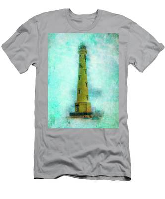 California Lighthouse Aruba Men's T-Shirt (Athletic Fit)