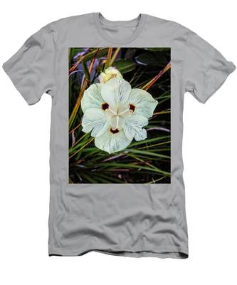 Caribbean Wildflower Men's T-Shirt (Athletic Fit)