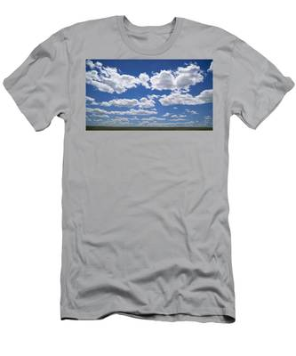 Men's T-Shirt (Athletic Fit) featuring the photograph Clouds, Part 1 by Carl Young