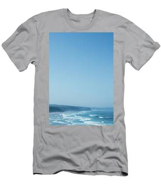 Men's T-Shirt (Athletic Fit) featuring the photograph Coastal Dream II by Anne Leven