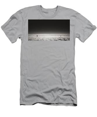 Men's T-Shirt (Athletic Fit) featuring the photograph Distance Between Us by Carl Young