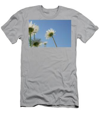 Distracted Daisies Men's T-Shirt (Athletic Fit)