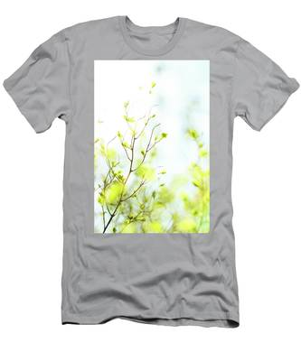 Men's T-Shirt (Athletic Fit) featuring the photograph Green Iv by Anne Leven