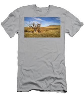 Men's T-Shirt (Athletic Fit) featuring the photograph Last Stand by Carl Young