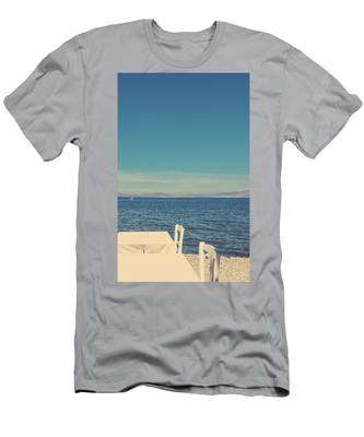 Men's T-Shirt (Athletic Fit) featuring the photograph Mediterranean Vacation I by Anne Leven