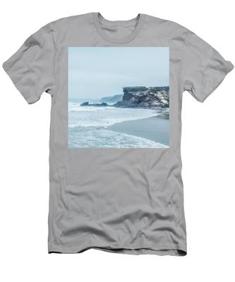 Misty Morning View Men's T-Shirt (Athletic Fit) by Anne Leven