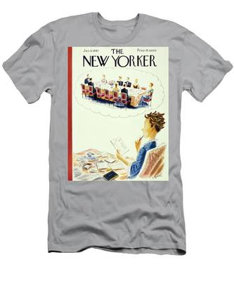 New Yorker January 4, 1947 Men's T-Shirt (Athletic Fit)